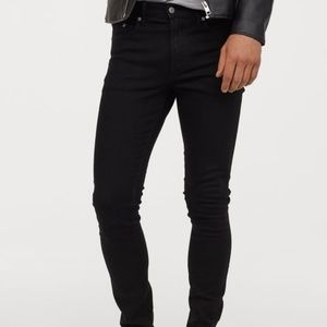 NWOT H&M Black Denim Jeans